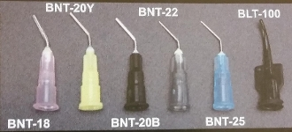 Bent Luer Lock Syringe Tips